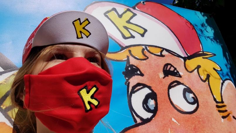 Klapp-Män K-Maske